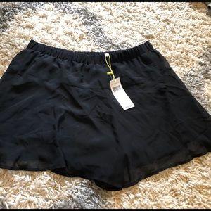 Bnwt bcbg black dress shorts